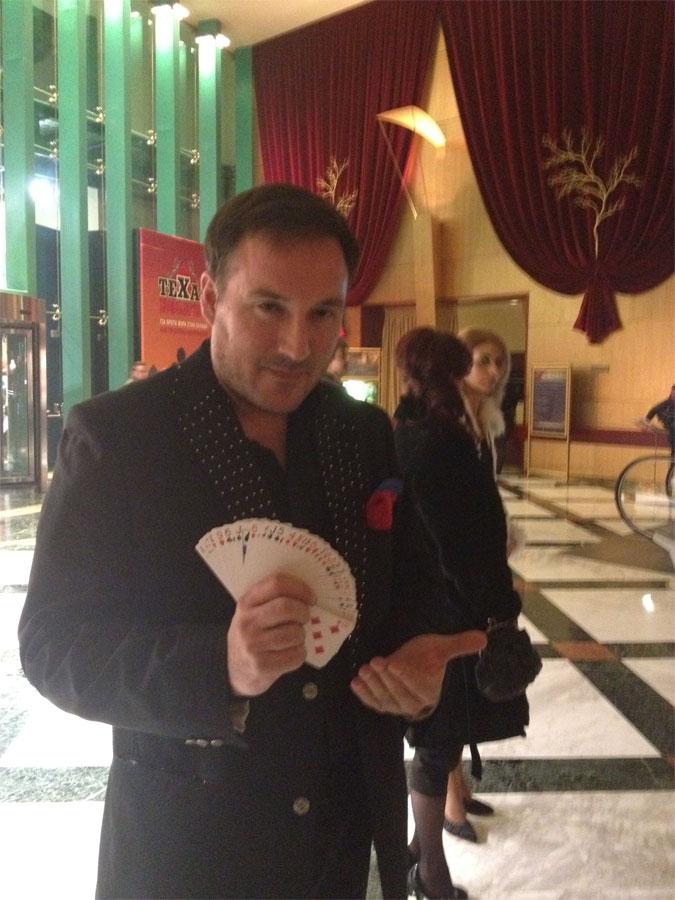 ταχυδακτυλουργος μαγος οναρ casino